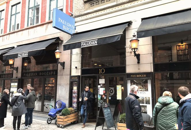 best book cafe in Copenhagen